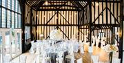 The Rose Barn - Wedding Breakfast