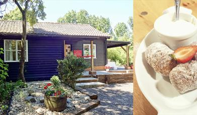 Treats at The Secret Sconery in White Roding, Essex