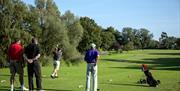 The Warren Golf Course Tee Off
