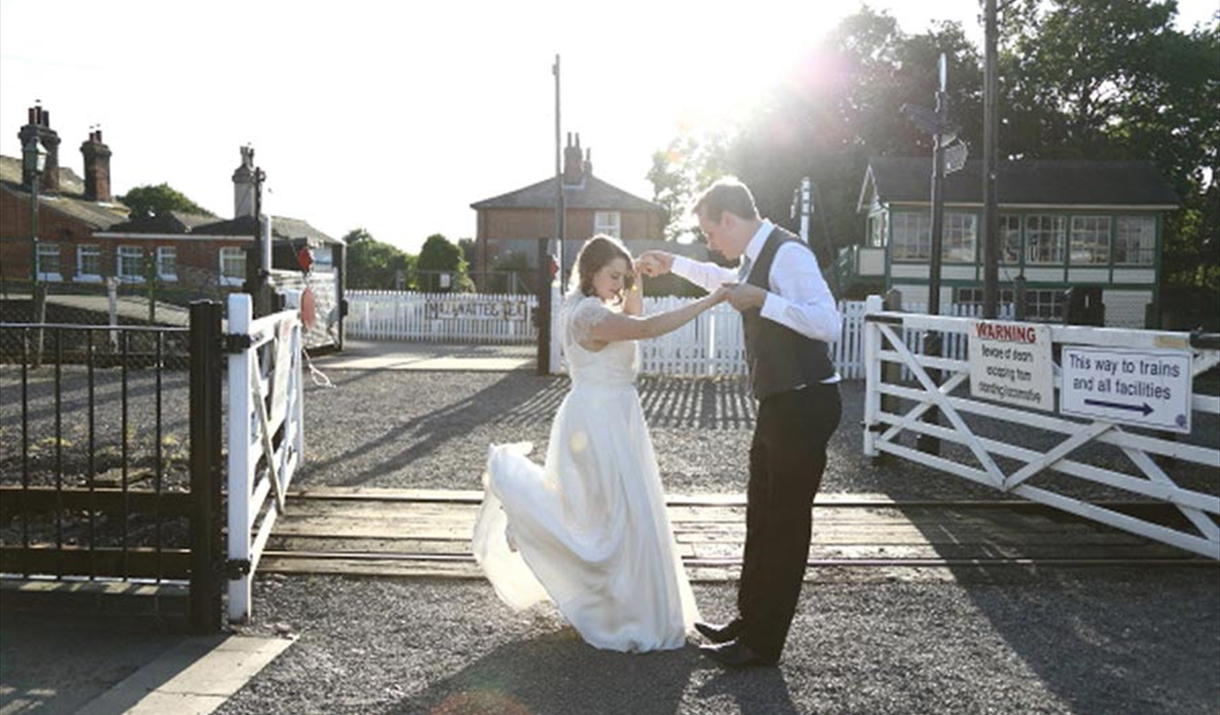 Wedding at East Anglian Railway Museum