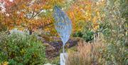 Leaf sculpture in the Winter Garden