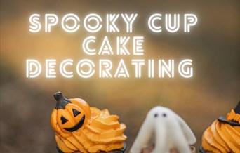 Spooky Cupcake Decorating