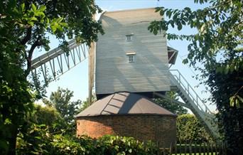 View of Finchingfield Mill