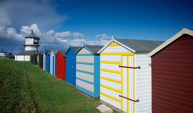 Harwich beach huts