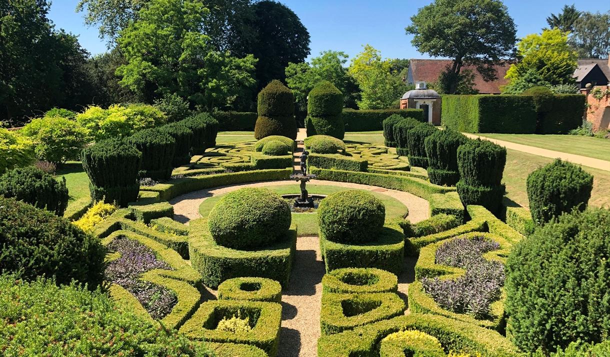 The Dutch Garden in Bridge End Garden