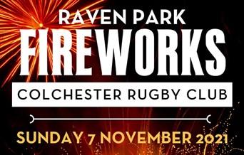 Raven Park Fireworks Colchester Rugby Club Sunday 7 November 2021