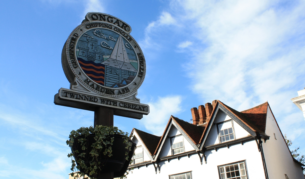 Chipping Ongar sign