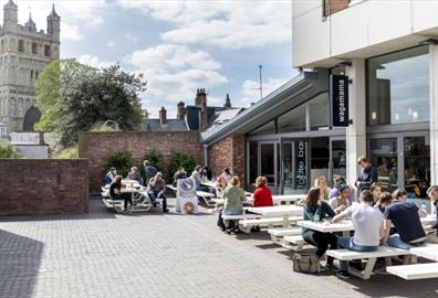 Dining Out(doors) in Exeter this April