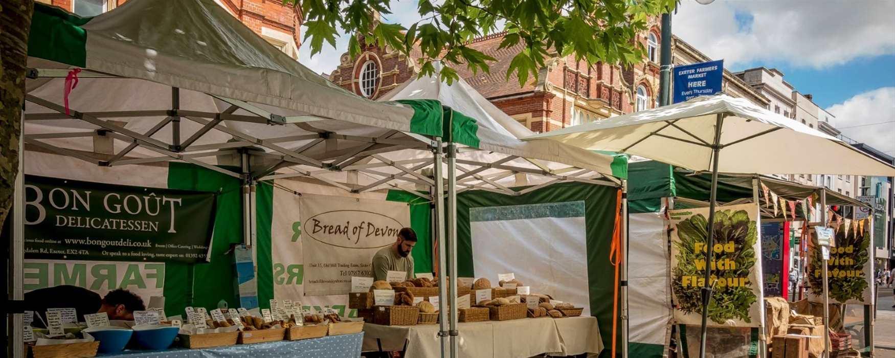 Exeter Farmers Market (c) Jan Penny