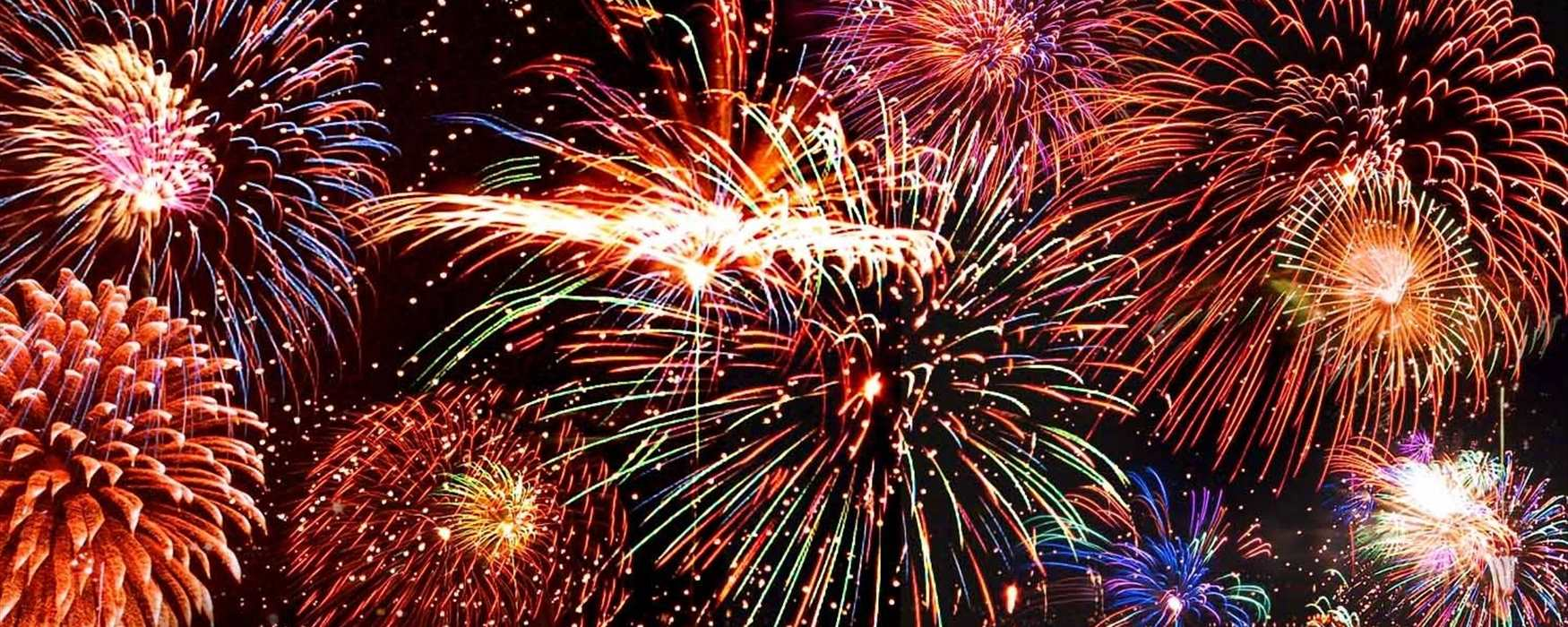 Firework Events in Exeter