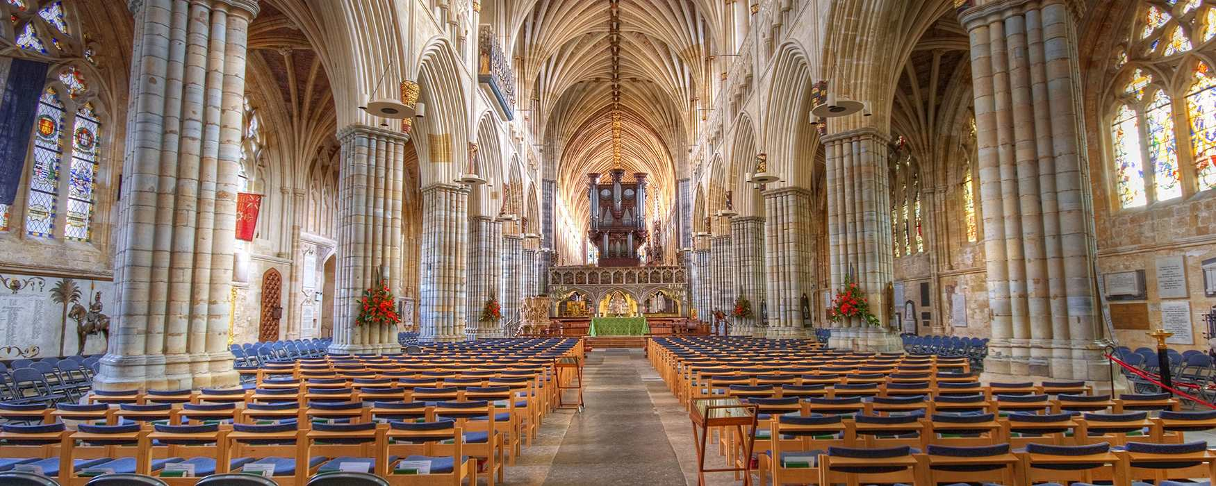 Internal of the Exeter Cathedral