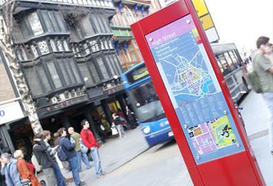 Exeter Travel Information