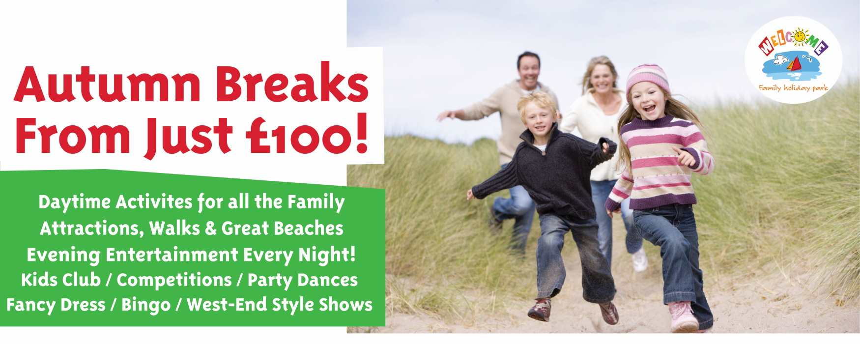 Welcome Family Holiday Park, Dawlish Warren
