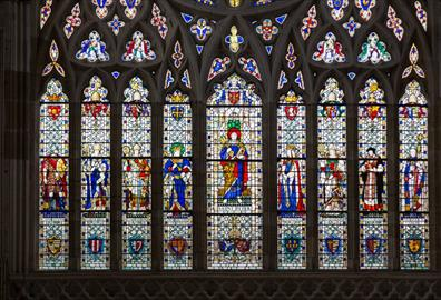 The Medieval Stained Glass Of Exeter Cathedral