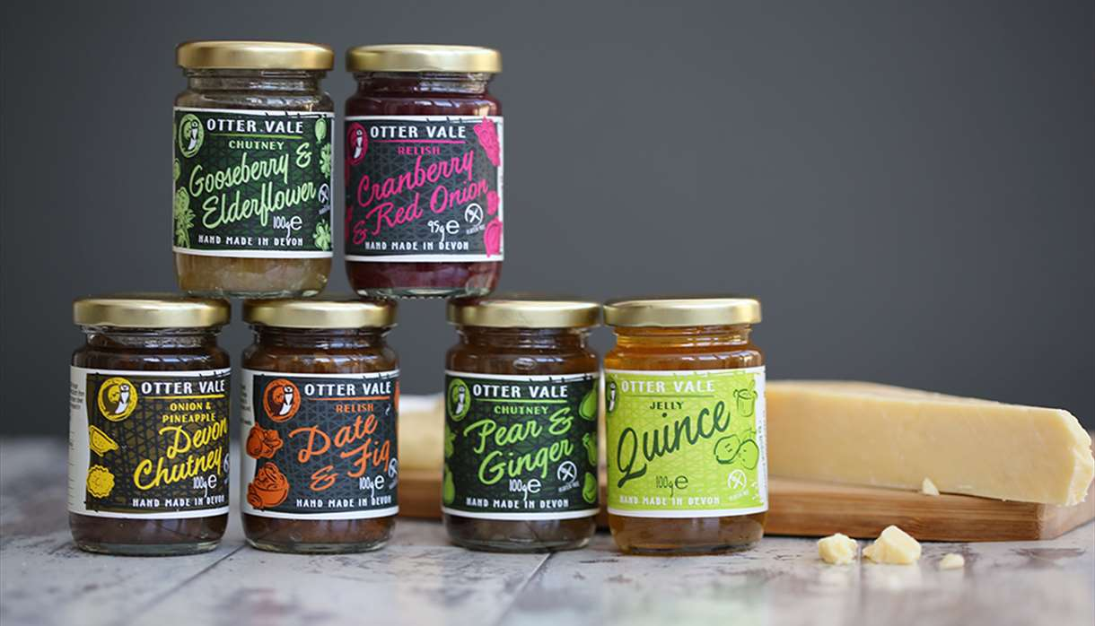 A selection of Otter Vale products