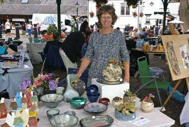 Exeter Potters Market - Stand