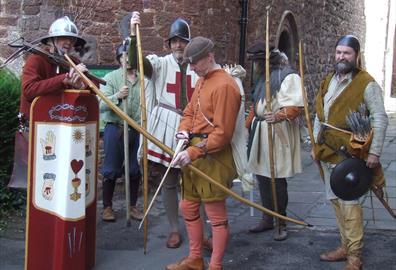 Exeter Siege: Tudor Re-enactment Days #allswell