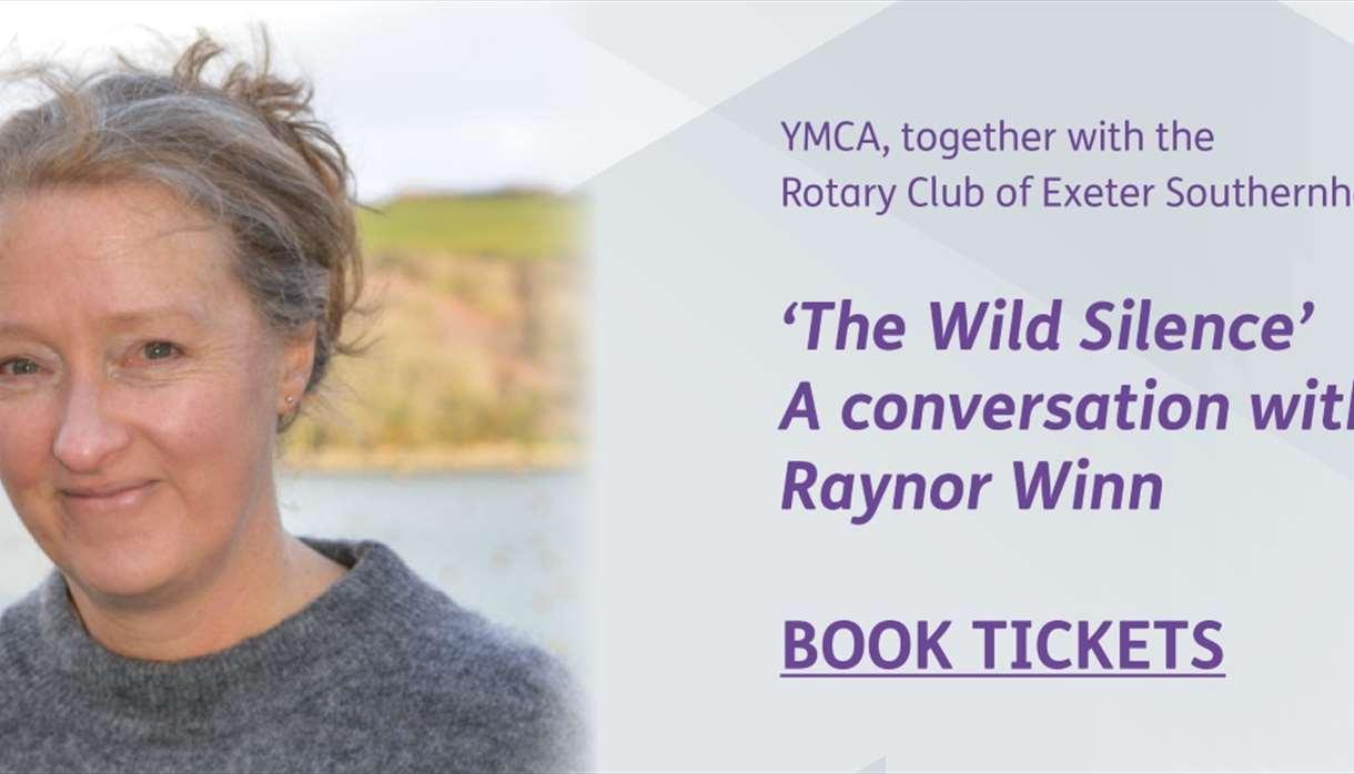 The Wild Silence - A conversation with Raynor Winn ad