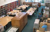 Interior of the Devon Heritage Centre