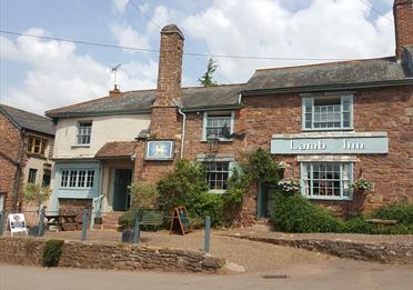 Front of The Lamb Inn