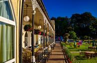 Langstone Cliff Hotel terrace