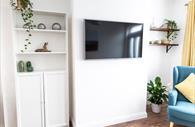 Flat screen TV in lounge