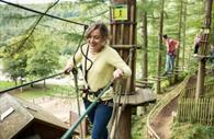 Walking in the air at Go Ape!