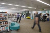 Inside Exeter Library