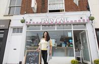 The Daisy Café exterior