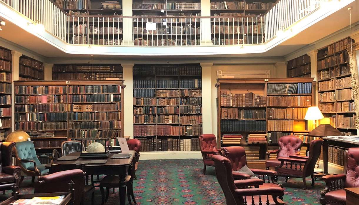 The Library of Devon & Exeter Institution