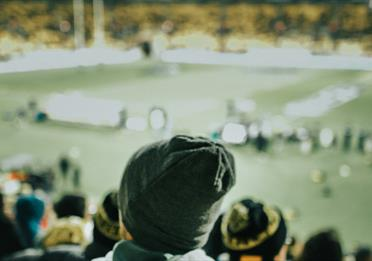 Rugby match in cold weather
