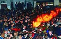 The Crowd at Tar Barrels
