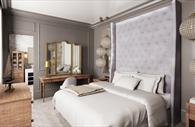 Lympstone Manor Hotel bedroom