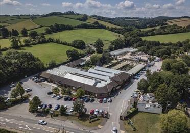 Aerial view of Bernaville Nurseries