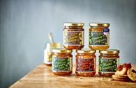 A selection of Otter Vale chutneys