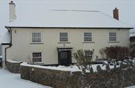 Courtbrook in snow: Christmas
