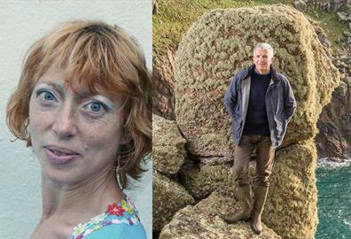 Ella Berthoud and Patrick Gale