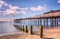 Teignmouth Pier: lefthand side