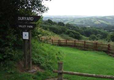 Duryard Valley Park Entrance