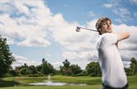 Playing golf (Copyright Matt Austin)