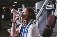 A woman in the gym (Copyright Matt Austin)