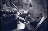 Erin making Jewellery