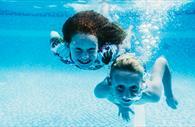 Underwater swimming (Copyright Matt Austin)