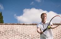 Person on tennis court (Copyright Matt Austin)