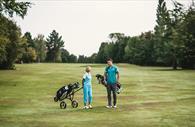 People on golf course (Copyright Matt Austin)