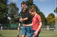 Tennis games (Copyright Matt Austin)