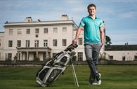 Golfer at EGCC (Copyright Matt Austin)