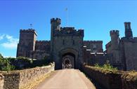 Powderham Castle bridge