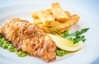 Fish and chips (Copyright David Griffin)