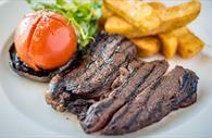 Steak serving (Copyright David Griffin)